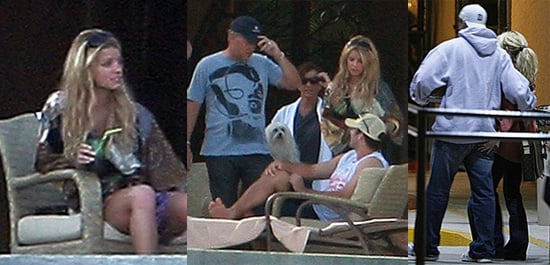 Jessica Simpson and Tony Romo in Los Cabos, Mexico