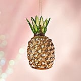 Glitter Pineapple Christmas Ornament