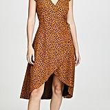 BB Dakota Leopard Wrap Dress