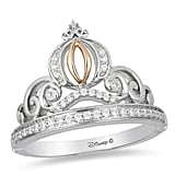 Enchanted Cinderella Diamond Carriage Ring