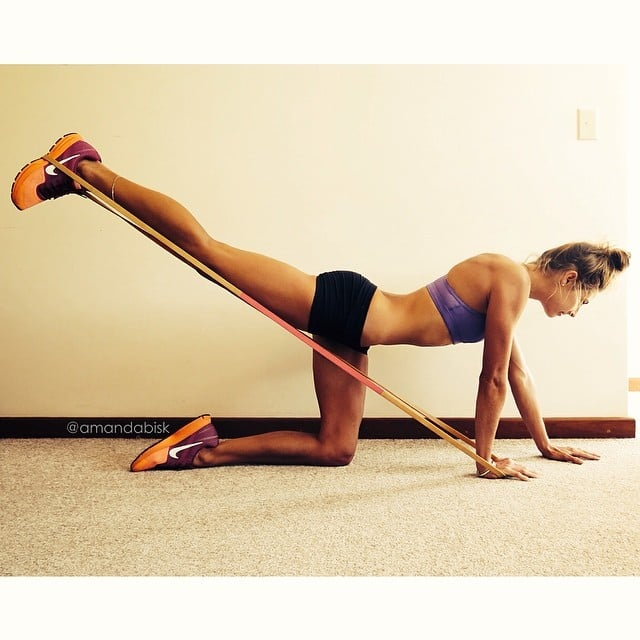 Add strength training to your workout routines. Source: Instagram user amandabisk