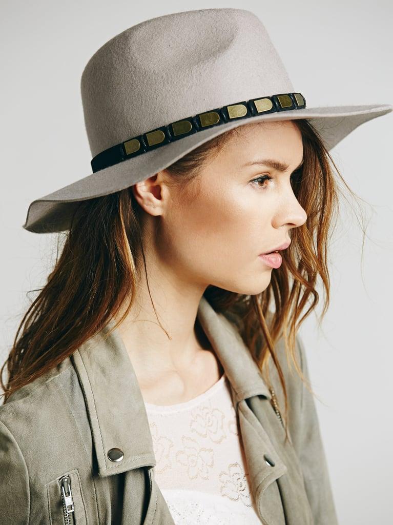 Free People Embellished Band Brimmed Hat