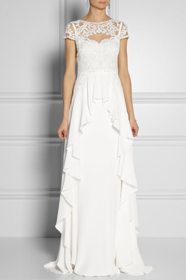Temperley London Bluebell Silk and Embroidered Lace Gown ($6,325)