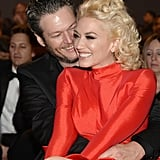 Pictured: Gwen Stefani and Blake Shelton