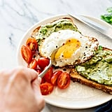 Vegetarian: Avocado Pesto Toast