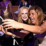 Nicole Kidman and Hoda Kotb.