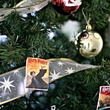 Throw on some Harry Potter book ornaments . . .