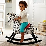 Land of Nod Zebra Rocker