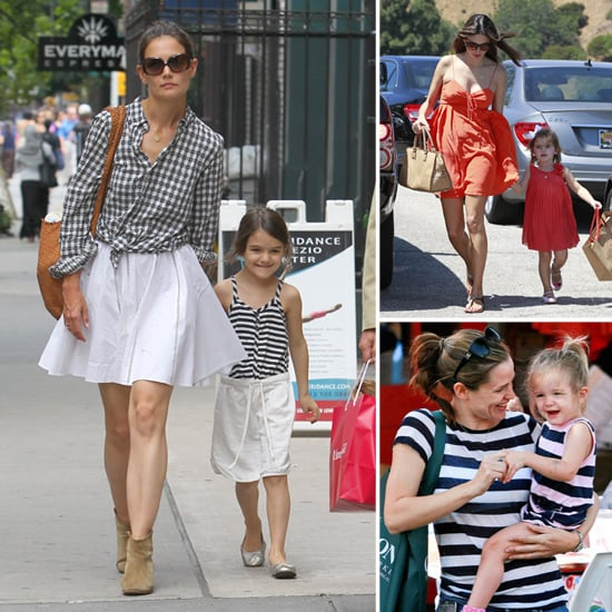 How to Pull Off a Chic Mommy-and-Me Style Just Like a Celeb