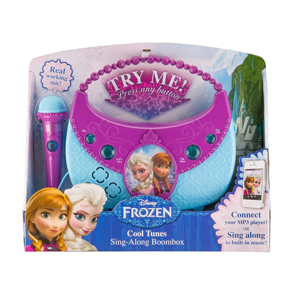 For 3-Year-Olds: Frozen Cool Tunes Sing-Along Boombox
