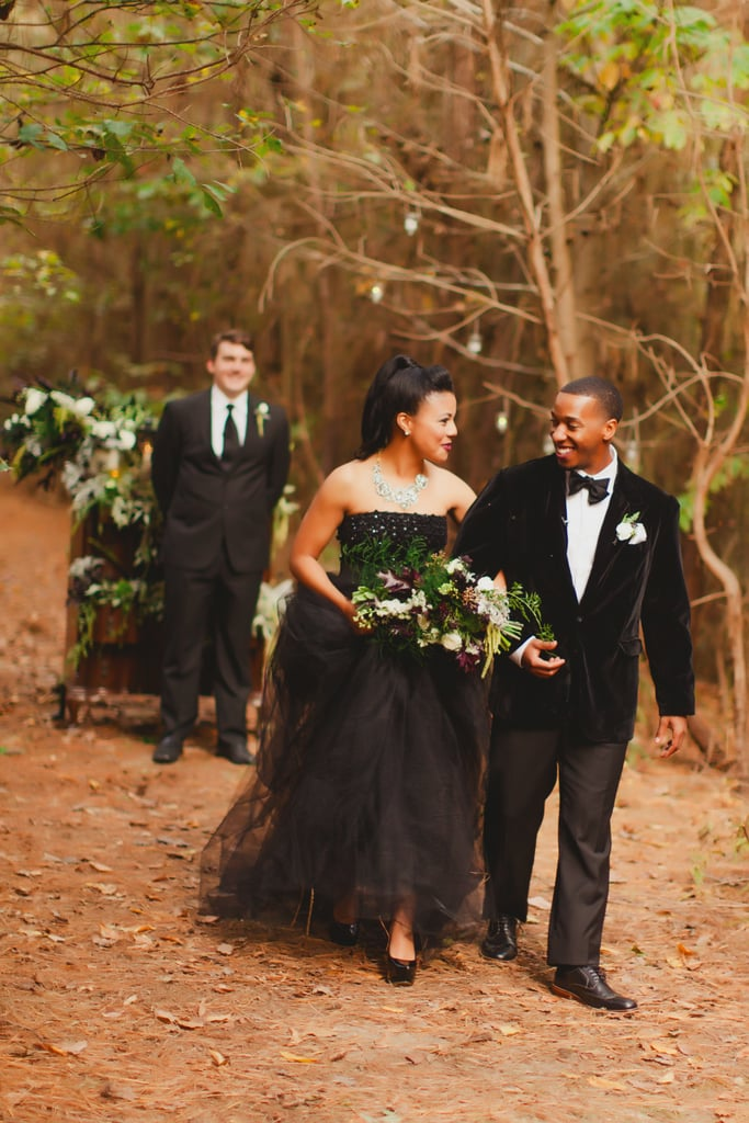 Candice and Bradley met in the eighth grade and had been engaged for three years after being high school sweethearts. Their intimate elopement featured wooden antiques and a hot drink station to complete the Winter vibes. See the wedding here!