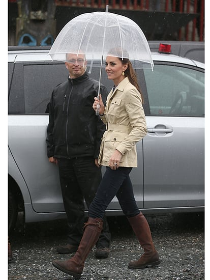 Princess Kate Braves the Canadian Rain in Her Favorite 12-Year-Old Boots!
