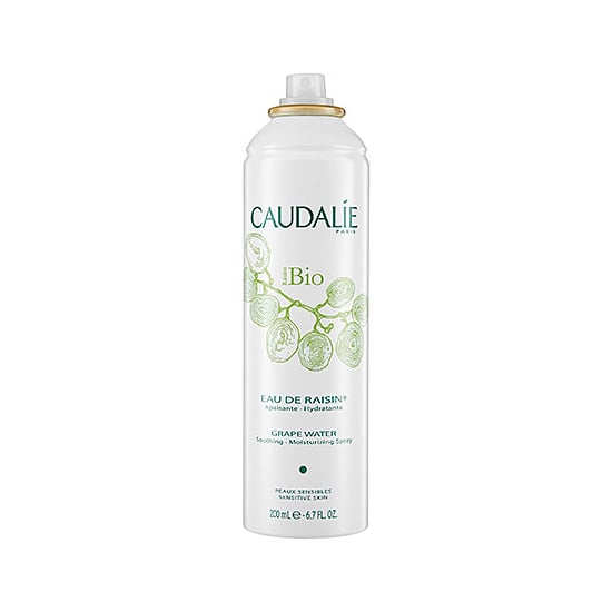 Store Caudalie Grape Water ($18) in the fridge and mist at will in the hot months. It feels and smells so refreshing, and it's actually good for my skin. — MLG