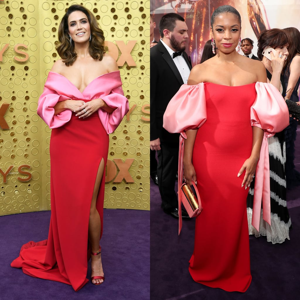 Mandy Moore and Susan Kelechi Watson Twinning at the Emmys
