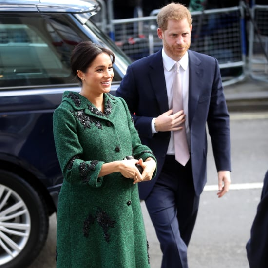 Meghan Markle Green Erdem Coat March 2019