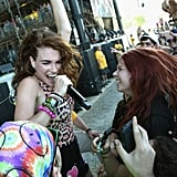 Mandy Lee of Misterwives getting up close and personal in 2016.