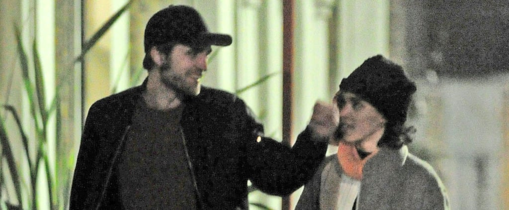 Robert Pattinson and FKA Twigs Take a Sweet Stroll Together in London