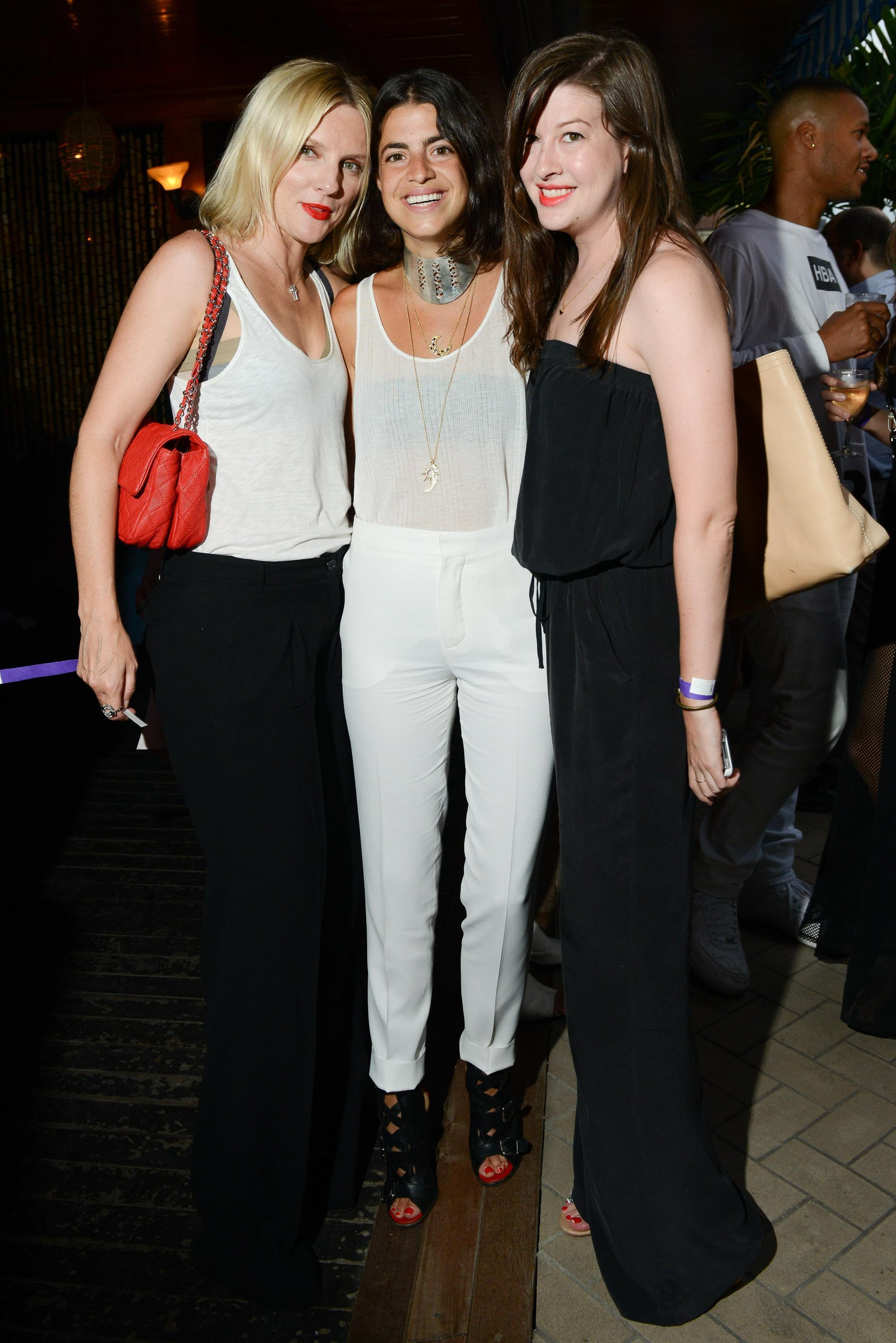 At the Maritime Hotel, Laura Brown, Leandra Medine, and Lea Chernikoff feted Young New York.