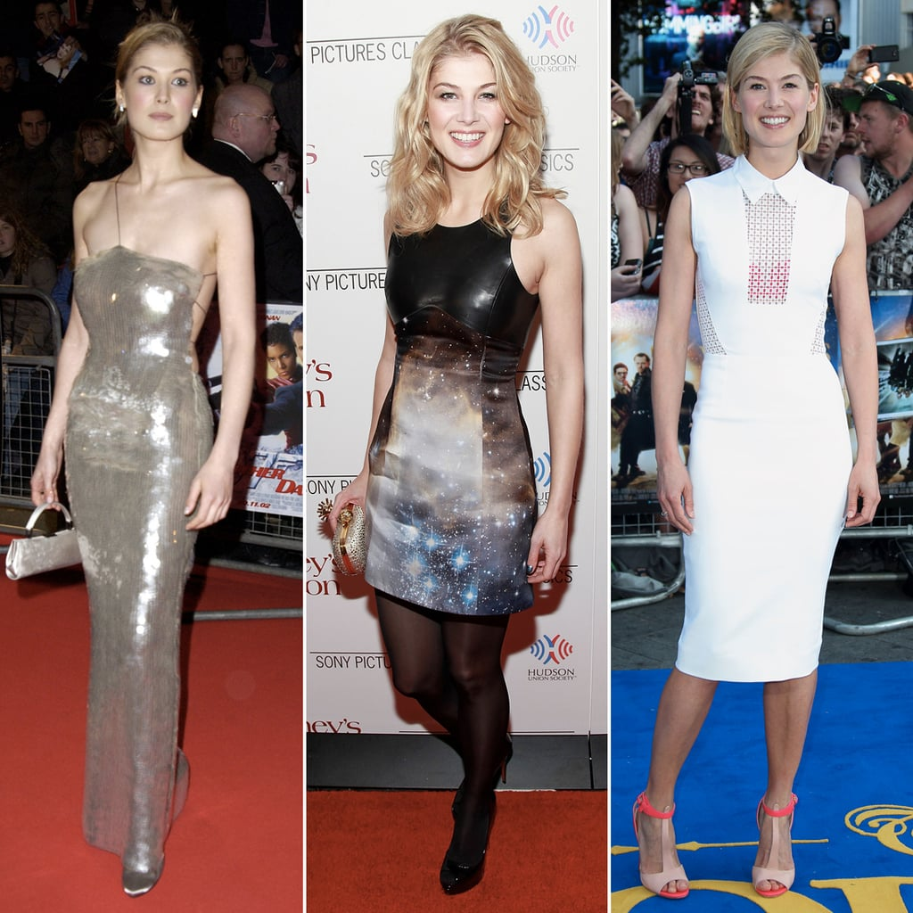 Rosamund Pike's Best Red Carpet Fashion Moments   Pictures