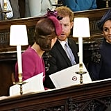 The last time they were all spotted together was for Princess Eugenie's wedding in October, just a couple of days before the Palace announced Meghan's pregnancy.