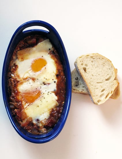 Baked Eggs in Spiced Tomato Sauce