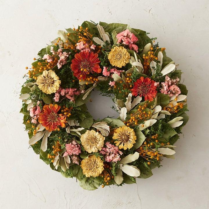 Citrus Garden Wreath ($78)