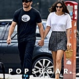 Jake Gyllenhaal and Alyssa Miller strolled hand in hand in NYC.