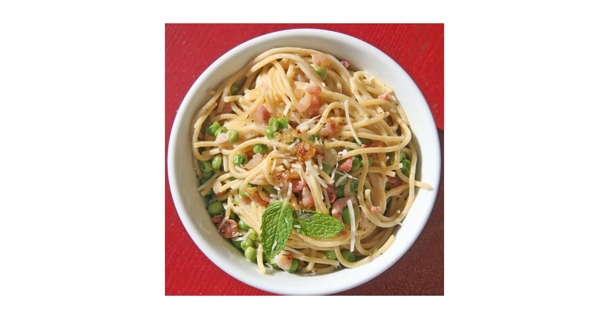 Lightened-Up Carbonara | Healthy Spring Pasta Recipes ...