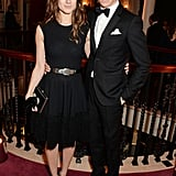 Eddie Redmayne and fiancée Hannah Bagshawe made a cute couple at the London Evening Standard Theatre Awards.