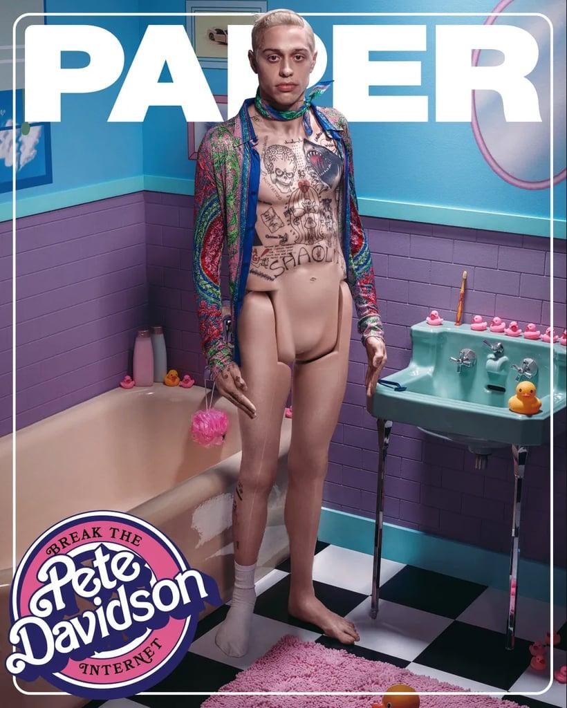 Pete Davidson's Ken Doll Photo Shoot For Paper Magazine