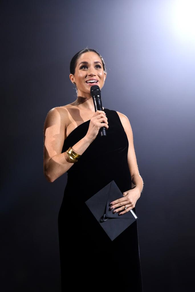 Meghan Markle at the 2018 Fashion Awards