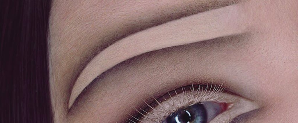 If You're Over Bold Brows, Skip Them Entirely With Negative Space Eyebrows