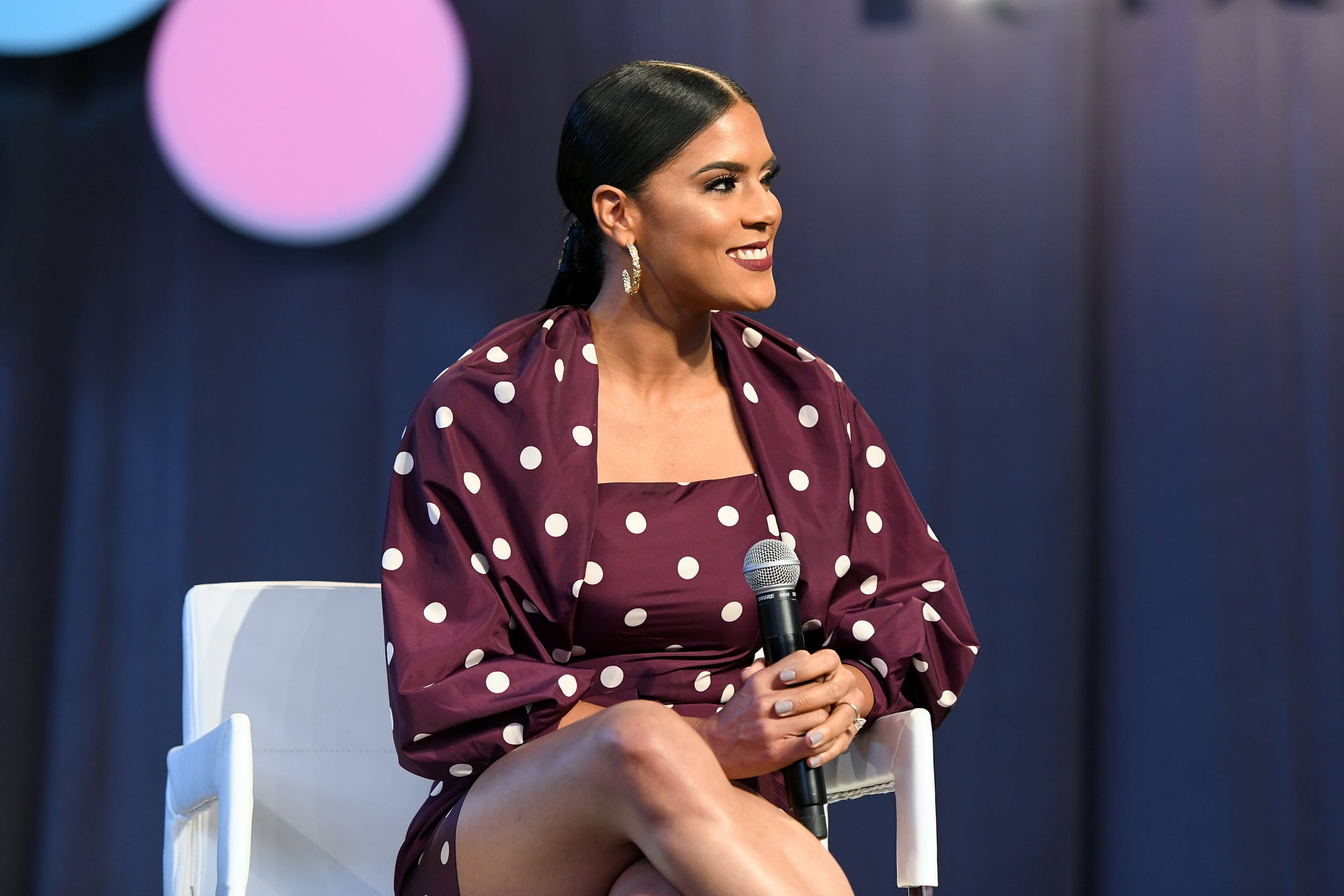 NEW YORK, NEW YORK - OCTOBER 05: Francisca Lachapel speaks on stage during People en Español 6th Annual Festival To Celebrate Hispanic Heritage Month - Day 1 on October 05, 2019 in New York City. (Photo by Jared Siskin/Getty Images for Festival People en Español)