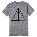Men's Harry Potter Deathly Hallows Short-Sleeved Graphic T-Shirt