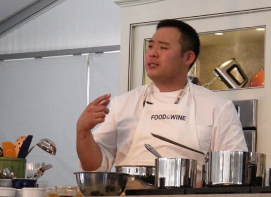 David Chang at the 2010 Food and Wine Classic in Aspen, CO