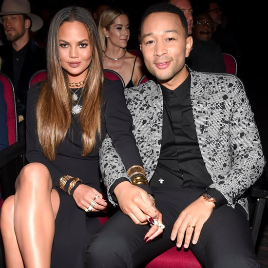 Chrissy Teigen and John Legend at 2016 American Music Awards