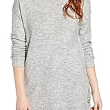 Caslon Side-Snap Tunic Sweater