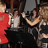 Kate Hudson Dresses Up For a Sing-Along With Fergie and a Scissor Sister