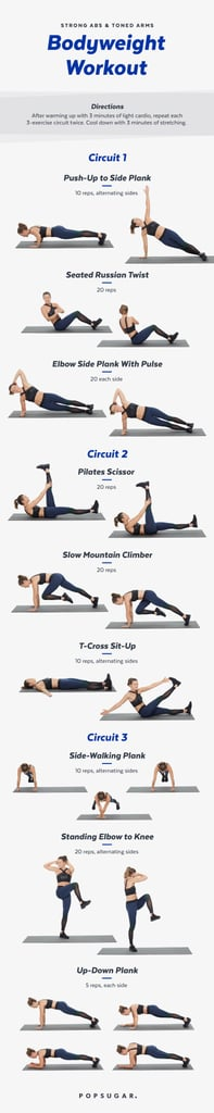Printable Workouts For Arms And Abs