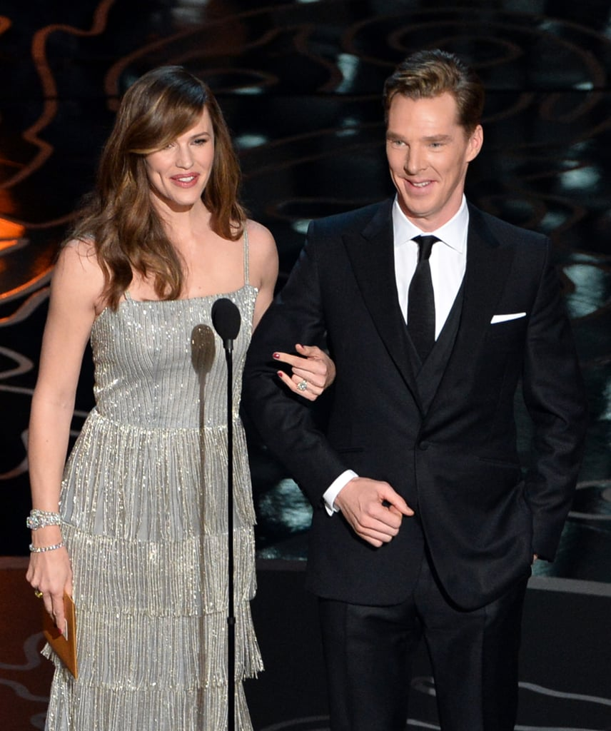 Jennifer Garner and Benedict Cumberbatch teamed up.