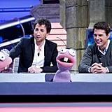 Tom Cruise spoke to puppets on El Hormiguero.
