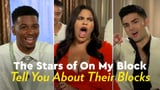 On My Block Cast Interview Video Hometowns