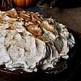 Pumpkin Pie with Cinnamon Vanilla Meringue