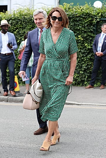 Carole Middleton's Green Dress at Wimbledon 2019