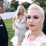 Gwen Stefani and Blake Shelton Attend a Wedding June 2018
