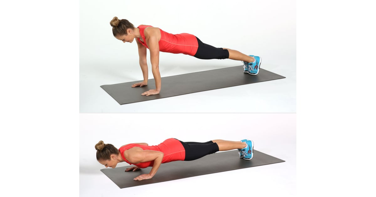 5 Triceps Push Ups Bodyweight Workout Popsugar Fitness