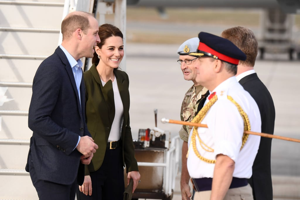 Prince William and Kate Middleton in Cyprus December 2018