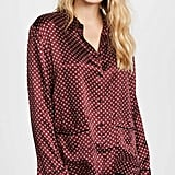 Madewell Silk PJ Top