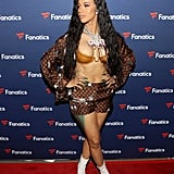 Cardi B at the Fanatics Super Bowl Party in February