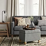 Frankford Tufted Storage Ottoman